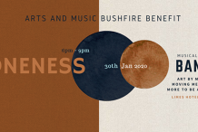 Art and Music Bushfire Benefit with BANFF