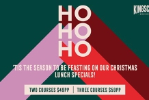 Festive lunch specials at the Kingy!