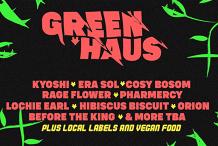 GREEN HAUS - The Inner west plant warehouse music fest