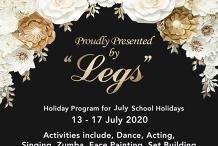 Legs Performing Arts Holiday Program July 2020