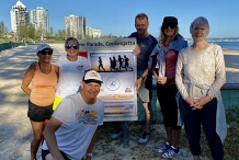 7am Every Tuesday at Tweed Coolangatta SLSC -30 minute walk/run then coffee