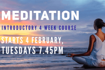 Meditation: Introductory 4 week Course