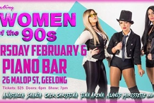 Piano Bar Presents Celebrating Women Of The 90s