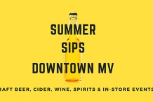 Summer Sips: Craft Beer + Cider + Wine + Spirits