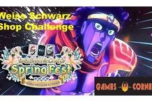 Weiss Schwarz Spring Fest 2020 Shop Challenge at Games Corner