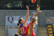 AFLW Round 3: Gold Coast SUNS versus Brisbane Lions