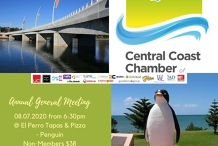 Central Coast Chamber CC&I - Annual General Meeting 2020