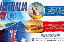 Australia Day at Monnies