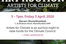 """Art Auction: """"Artists for Climate"""""""