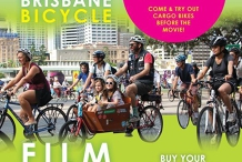 Bike Ride to the Brisbane Bicycle Film Fest (UQ)