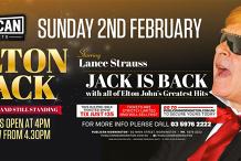 Elton Jack LIVE at Publican, Mornington!
