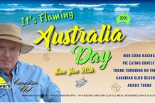 Australia Day On The Beach!