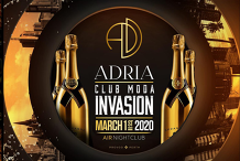 ADRIA - Club Moda Invasion - Labour Day Long Weekend