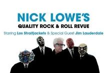 Nick Lowe & Los Straitjackets | The Gov