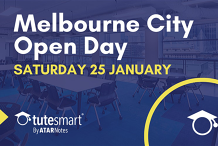 ATAR Notes Open Day | Melbourne City Centre | Saturday 25 January 2020
