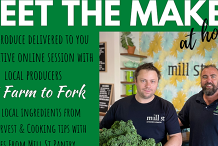 Meet the Maker at Home #4 Farm to Fork