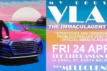 NEW DATE TBA - My Cousin Vlad - The Immaculagent Tour - SHOW POSTPONED