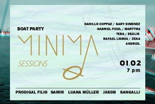 Minima Sessions Boat Party