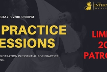 [JULY] 4 Social & Competition Thursday Practice Sessions