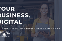 Your Business, Digital - INFORMATION SESSION - with The Shire of Murray.