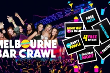 Meetup - Melbourne Bar Crawl - 4 Drinks, 4 Venues & More!