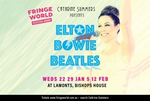 FRINGEWORLD - Cathrine Summers: Elton, Bowie, Beatles