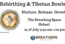 Fully Booked Rebirthing & Tibetan bowls workshop