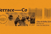 Terrace Co - Rooftop Launch Party Ft Claz & Kirby, Rela and UTT