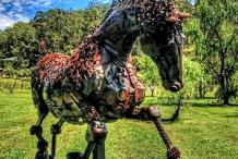 Sculpture in the Vineyards Wollombi Valley Sculpture Festival