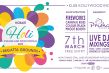 Hobart Holi Colour and Food Festival 2020 | PRISHA EVENTS