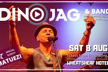 DINO JAG & BAND live at The Wheaty!