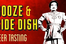 Booze and Side Dish  - Beer Tasting