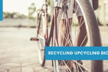 Recycling, Upcycling Bicycle Workshop
