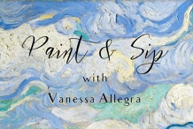 Paint & Sip in March!