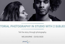 Editorial Photography in Studio with 2 Subjects - 23/02/2020 - Melbourne