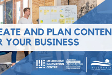 How to Create and Plan Content for your Business - Nillumbik/Banyule