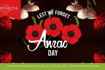 Anzac Day | Duporth Tavern