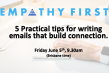 5 practical tips for writing emails that build connection
