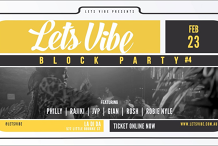 Lets Vibe Presents // R&B Block Party (Round 4)