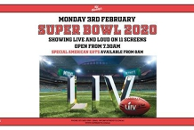 Super Bowl 2020 LIVE AT Fat Freddy's