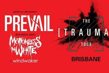 I Prevail - The Trauma Tour w/ Motionless in White // Brisbane
