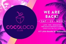 CocoLoco Club - Latin + RNB - Every Saturday