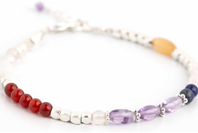 Bracelet Making with Sterling Silver and Gemstones