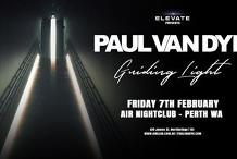 Elevate presents Paul Van Dyk