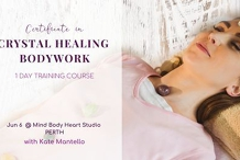 Crystal Healing Course   Crystal Healing Certification Training, Perth