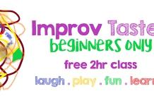 FREE Online Improv Taster August 17th 2020