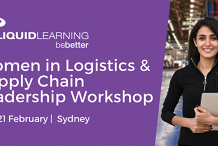 Women in Logistics & Supply Chain Leadership Workshop Melbourne