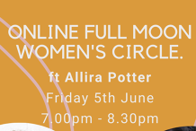 Online Full Moon Women's Circle ft Special Guest