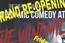 The Windmill Comedy Club - Re-Open