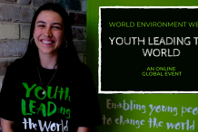 YOUth LEADing the World Online.  3rd, 4th & 5th June, 9am-12pm (AEST Sydney time).  3 hours per day.